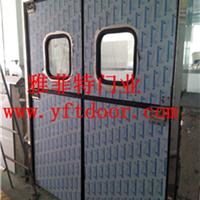 供应车库防撞自由门不锈钢子母门厨房门