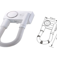 供应信达牌GDC-600B干发干肤器,吹干器