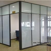 天津玻璃隔断厂家,磨砂玻璃隔断,材料