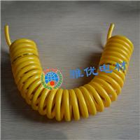 PU弹簧管8*5-15米 气泵管 空压机用伸缩气管