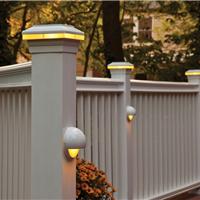 廊坊生态木塑木地板WPC木塑栏杆栅栏栏杆