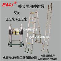 供应EMJ益美健两用式(关节)伸缩梯5.0米