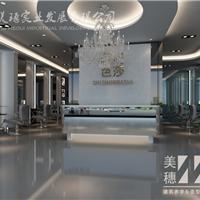 供应美穗连锁店Logo背景墙 3D艺术 立体造型