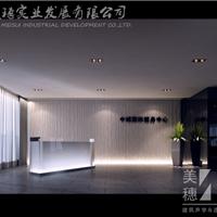 供应美穗企业前3D背景墙 公司前台背景墙