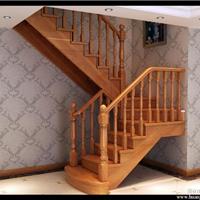 玻璃护栏实木楼梯钢木楼梯旋转楼梯