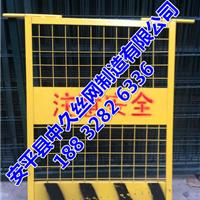 施工电梯安全防护门井道隔离升降机防护门
