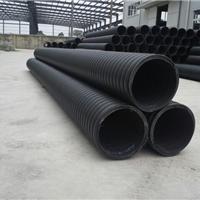 宝辰管业供应HDPE伞状立筋增强缠绕波纹管