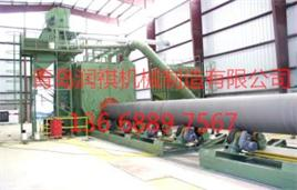 供应钢管外壁抛丸机-质优价廉-青岛抛丸机