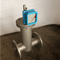 供应DN150水平安装电远传金属管转子流量计