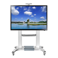 NB60-100寸自由伸缩电视机移动支架挂架