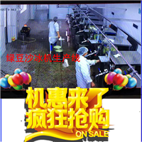 供应绿豆沙冰机价格 绿豆沙冰机型号生产线