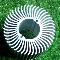 长期供应优质太阳花散热器铝型材