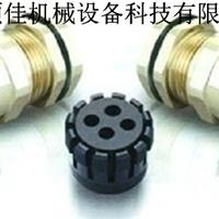 供应四孔防爆电缆固定头 4孔金属电缆接头