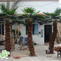 供应定制室内外仿真棕榈树仿真大树绿化造景