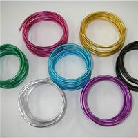 供应江苏6061氧化彩色铝线
