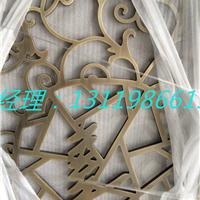 大堂浮雕铝板屏风 水镀青古铜拉丝隔断