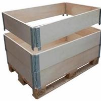 上海松江实木围板式包装箱 松江包装木箱厂