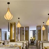 供应酒店餐厅中式吊灯 羊皮纸中式灯具直销