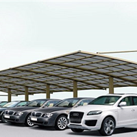 供应质保5年博澳达厂家直营:膜结构停车棚