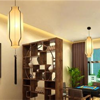 新中式别墅吊灯特价出售 实拍案列图片