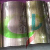 6米彩色不锈钢管厂家  古铜色拉丝不锈钢管