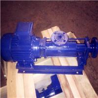 供应G10-1小流量单螺杆泵