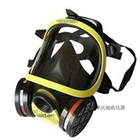 供应双盒全面罩防毒面具