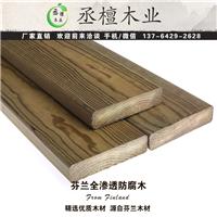 芬兰木防腐木户外地板  木板材 园林地板
