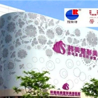 云南省大理市雕花造型铝天花厂家 雕花铝板