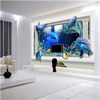 墙布 无缝墙布 墙布厂家 3D背景墙 千彩装饰