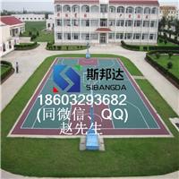 篮球场网球场悬浮地板 拼装地板厂家
