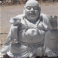 精汉白玉石雕大肚弥勒佛 哈哈笑大肚笑和尚