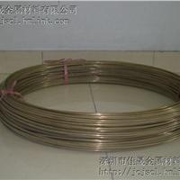 佳晟供应H70黄铜线,φ1.0mm黄铜线,黄铜线厂