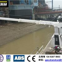 供应贯博公务船液压折臂吊机gao33