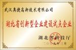 湖北省创新型企业建设试点企业