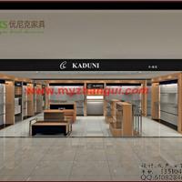 供应厂家加工定制服装展示柜品牌价格