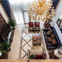 成都别墅装修设计案例―450平米新古典风格