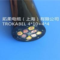 供应4X10 4X4垃圾抓斗电缆、拓柔行车电缆