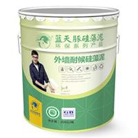 蓝天豚硅藻泥,外墙耐候硅藻泥, 外墙涂料