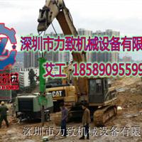 能装在挖机上替代膨胀剂快速开裂岩石机械