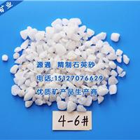 供应北京喷砂除锈石英砂