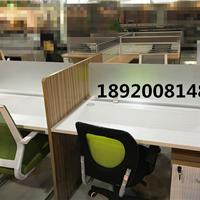 四人位带隔断办公桌样式十字型工位价格