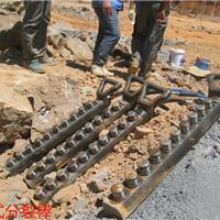 供应柱塞式劈裂棒液压分裂棒