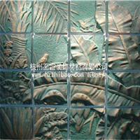 供应人造砂岩浮雕壁画 砂岩背景墙 至宝雕塑