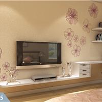 美宝兰硅藻泥加盟 沙发背景墙