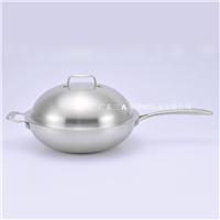 五层钢/五层铜炒锅OEM 高品质厨房锅具厂家