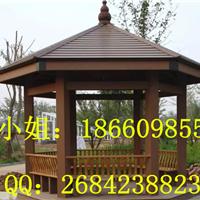 厂家直销优质塑木 木塑亭子 凉亭