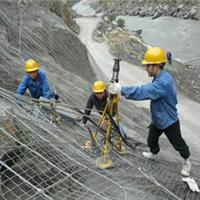 湖南山体滑坡防护网用途镀锌勾花铁丝网批发