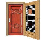 供应2平方米起定制款不锈钢有色实木套门