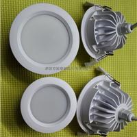 供应LED防水筒灯外壳配件
